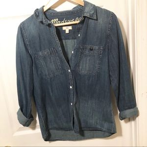 Madewell Jean Button Down